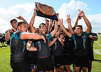 Southern Cross Campus v Kelston Boys High School, Secondary Schools Rugby League Nationals Final, Bruce Pulman Park, Papakura, Auckland, New Zealand. Friday 8 September. Photo: Simon Watts/www.bwmedia.co.nz