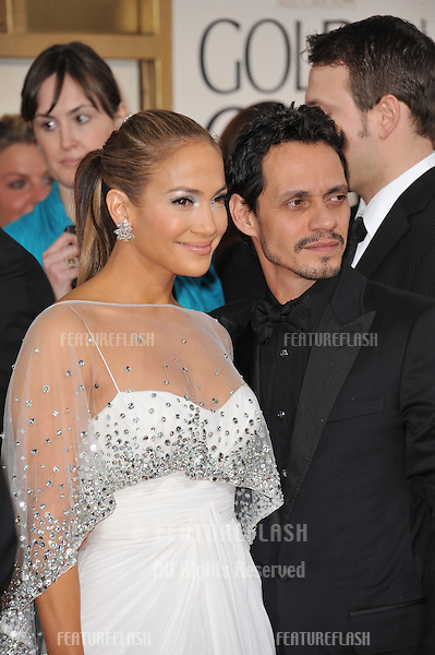 Jennifer Lopez & Marc Anthony at the 68th Annual Golden Globe Awards at the Beverly Hilton Hotel..January 16, 2011  Beverly Hills, CA.Picture: Paul Smith / Featureflash