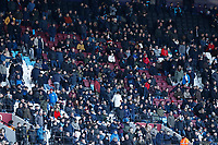 29th February 2020; London Stadium, London, England; English Premier League Football, West Ham United versus Southampton; West Ham United fans watching the game from the top tier of the London Stadium