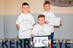 Apps for Change Competition: Three pupils from Scoil Realta  na Madna, Listowel  & Foroige group were winners in the  Bet Tech Space Development of Apps in Dublin.  L-R : Ryan Sharp, Thomas Gould & Cormac Molyneaux