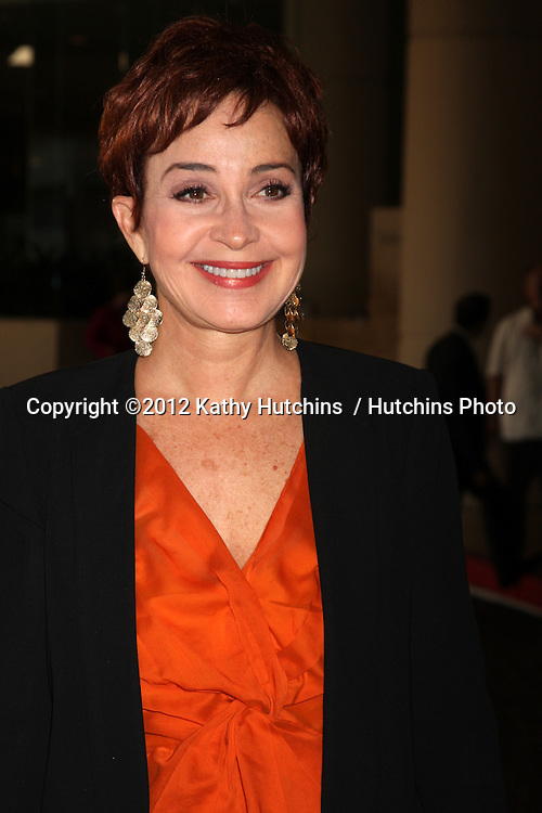 LOS ANGELES - AUG 2:  Annie Potts arrives at the Hallmark Channel TCA Press Tour 2012 at Beverly Hilton Hotel on August 2, 2012 in Beverly Hills, CA