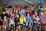 Caroline O'Halloran, Tralee, celebrates her 50th birthday with family and friends at Stokers Lodge on Saturday