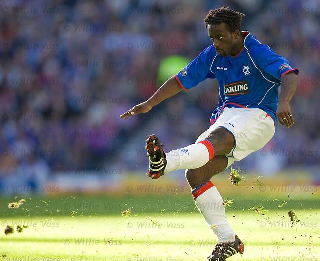 Olivier Bernard, Rangers.stock season 2005-2006.pic willie vass