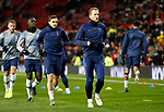 Tottenham Hotspur's Harry Kane (C) warms up ahead of the Premier League match at Old Trafford, Manchester. Picture date: 4th December 2019. Picture credit should read: Darren Staples/Sportimage
