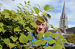 28-7-2015: Michael Gleeson pictured with the Japanese Knotweed in Killarney, County Kerry. The weed is spreading rapidly accross the country but council officials are asking people not to cut it as this helps it to spread. <br /> Picture by Don MacMonagle