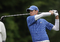 22 May, 2010:   Middle Tennessee States Brad Simons drives the ball down the fairway on hole Eleven during day three of the first round of the NCAA West Regionals at Gold Mountain Golf course in Bremerton, WA.