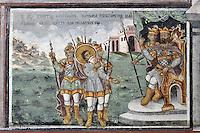 BG51503.JPG BULGARIA, BATCHKOVO MONASTERY, Refectory, 1601, frescoes
