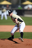 Central Florida Knights pitcher Zac Favre (31) during a game against the Siena Saints at Jay Bergman Field on February 16, 2014 in Orlando, Florida.  UCF defeated Siena 9-6.  (Copyright Mike Janes Photography)