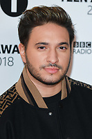 Jonas Blue<br /> arriving for the Radio 1 Teen Awards 2018 at Wembley Stadium, London<br /> <br /> ©Ash Knotek  D3454  21/10/2018