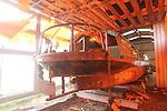 SSE Barge Restoration.Uskmouth Power Station.01.03.12.©STEVE POPE