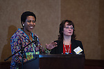 Xio Owens, Vickie Novak.. 7th annual BHA Convention at Embassy Suites Hotel Nov. 2-5, 2015.