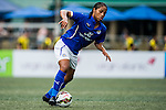 Leceister City vs BC Rangers during day two of the HKFC Citibank Soccer Sevens 2015 on May 30, 2015 at the Hong Kong Football Club in Hong Kong, China. Photo by Xaume Olleros / Power Sport Images