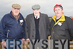 TOP: Top men over the Abbeydorney Ploughing competition on Sunday in Abbeydorney, Tom O'mahony, Joe Slattery and Ger McCarthy............. ....