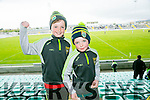 Paddy and Rory McMahon at Kerry's win over Carlow at Austin Stack's park on Sunday