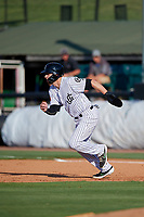 Jackson Generals Drew Ellis (29) running the bases during a Southern League game against the Mississippi Braves on July 23, 2019 at The Ballpark at Jackson in Jackson, Tennessee.  Jackson defeated Mississippi 2-0 in the first game of a doubleheader.  (Mike Janes/Four Seam Images)