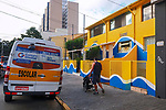 Fachada da escola particular, bairro Sumare, Sao Paulo. 2018. Foto de Juca Martins.
