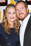 Katie Finneran & husband Darren Goldstein attending the Broadway Opening Night Performance After Party for 'Annie' at the Hard Rock Cafe in New York City on 11/08/2012