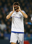 Nemanja Matic of Chelsea adjusts his face mask - English Premier League - Leicester City vs Chelsea - King Power Stadium - Leicester - England - 14th December 2015 - Picture Simon Bellis/Sportimage