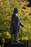 0809-01 GCS September .0809-01 GCS 008..Brigham Young Statue at the ASB.  General Campus Scenics (GCS) around campus...September 24, 2008..Photo by: Mark Philbrick/BYU..Copyright BYU PHOTO 2008.All Rights Reserved.801-422-7322.photo@byu.edu..