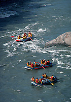 Rafting on the Nenana River, Denali National Park, Alaska