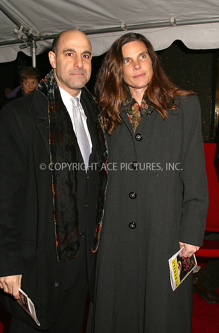 "Stanley Tucci at the opening of ""La Boheme"" on Broadway. New York, December 8, 2002. Please byline: Alecsey Boldeskul/NY Photo Press.   ..*PAY-PER-USE*      ....NY Photo Press:  ..phone (646) 267-6913;   ..e-mail: info@nyphotopress.com"