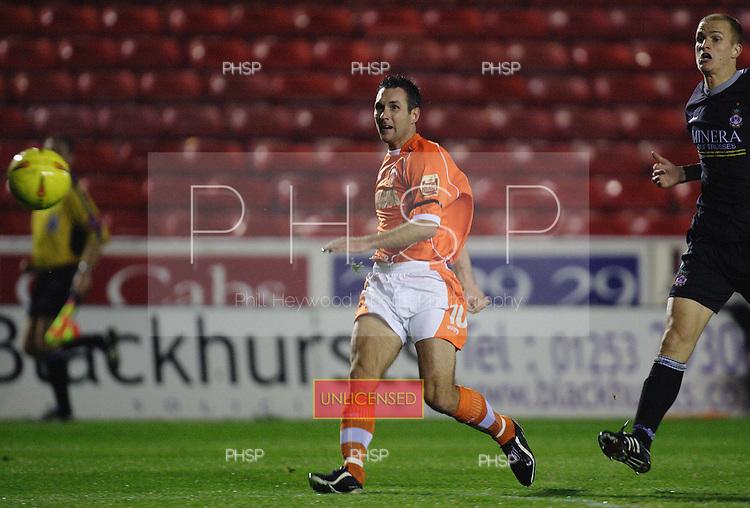 2719 Taylor shot.Blackpool v Wrexham