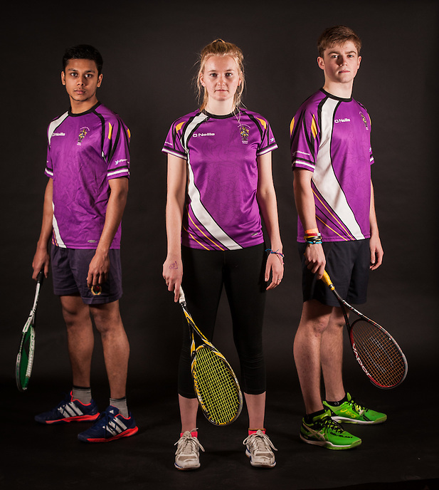 Manchester University Squash Team portraits, November 2015.