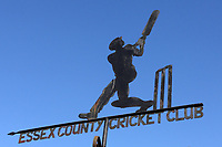 Blue skies behind the weather vane during Essex CCC vs Somerset CCC, Specsavers County Championship Division 1 Cricket at The Cloudfm County Ground on 31st August 2017