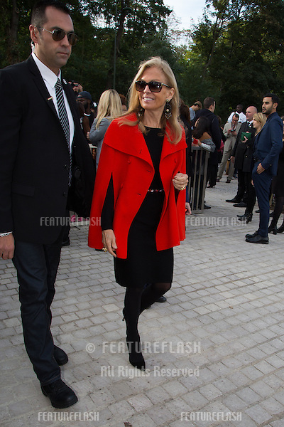 ambassador USA  Jane D. Hartley attend Louis Vuitton Show Front Row - Paris Fashion Week  2016.<br /> October 7, 2015 Paris, France<br /> Picture: Kristina Afanasyeva / Featureflash