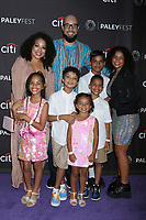 LOS ANGELES - SEP 14:  Peter Saji, Family at the PaleyFest Fall TV Previews - ABC at the Paley Center for Media on September 14, 2019 in Beverly Hills, CA