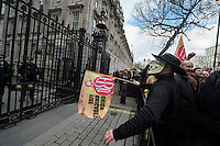 *FBU in Westminster 25-2-15*