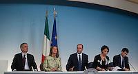 20131009 ROMA-POLITICA: CONFERENZA STAMPA DEI MINISTRI DEL PDL