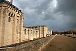 20060213 - France - Vincennes<br />LE CHATEAU DE VINCENNES, COTE BOIS DE VINCENNES<br />Ref: CHATEAU_DE_VINCENNES_005 - © Philippe Noisette