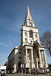 Christ church, Spitalfields, East End, London, EC1, England