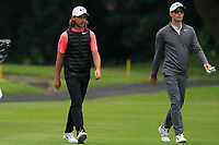 Tommy Fleetwood (ENG) and Dylan Frittelli (RSA) on the 15th fairway during Round 3 of the UBS Hong Kong Open, at Hong Kong golf club, Fanling, Hong Kong. 25/11/2017<br /> Picture: Golffile | Thos Caffrey<br /> <br /> <br /> All photo usage must carry mandatory copyright credit     (&copy; Golffile | Thos Caffrey)