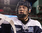 Marcus Vela (UNH - 17) - The Northeastern University Huskies and University of New Hampshire Wildcats tied 2-2 on Saturday, January 14, 2017, at Fenway Park in Boston, Massachusetts.
