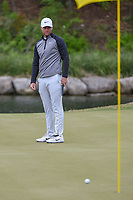 Lucas Bjerregaard (DEN) watches his birdie attempt on 11 during day 5 of the WGC Dell Match Play, at the Austin Country Club, Austin, Texas, USA. 3/31/2019.<br /> Picture: Golffile | Ken Murray<br /> <br /> <br /> All photo usage must carry mandatory copyright credit (&copy; Golffile | Ken Murray)