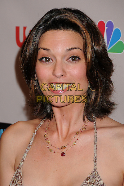 ALANA DE LA GARZA.NBC Universal 2008 Press Tour All-Star Party at the Beverly Hilton Hotel, Beverly Hills, California, USA..July 20th, 2008.headshot portrait halterneck necklace .CAP/ADM/BP.©Byron Purvis/AdMedia/Capital Pictures.