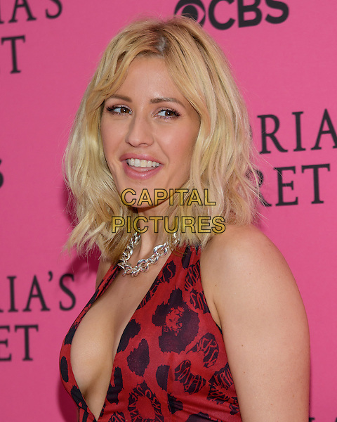 November 11 , 2015 - New York, NY - Ellie Goulding. 2015 Victoria's Secret Fashion Show Pink Carpet. <br /> CAP/ADM/MS<br /> &copy;MS/ADM/Capital Pictures