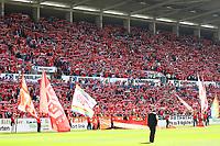 Fans von Mainz 05 - 13.05.2017: 1. FSV Mainz 05 vs. Eintracht Frankfurt, Opel Arena, 33. Spieltag