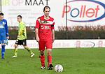 2017-11-05 / voetbal / seizoen 2017-2018 / VC Herentals - Hoeilaart / kapitein Gianni Convalle (VC Herentals) verlaat ontgoochelt het veld na het thuisverlies tegen Hoeilaart