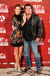"Juana Acosta and Jorge Perrugoria attends to the presentation of the spanish film ""Vientos de la Habana"" in Madrid. September 27, 2016. (ALTERPHOTOS/Borja B.Hojas)"
