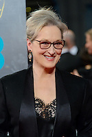 www.acepixs.com<br /> <br /> February 12 2017, London<br /> <br /> Meryl Streep arriving at the 70th EE British Academy Film Awards (BAFTA) at the Royal Albert Hall on February 12, 2017 in London, England<br /> <br /> By Line: Famous/ACE Pictures<br /> <br /> <br /> ACE Pictures Inc<br /> Tel: 6467670430<br /> Email: info@acepixs.com<br /> www.acepixs.com
