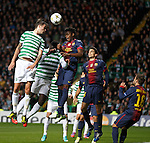 Mikael Lustig clears from Alex Song