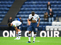 Preston North End's Daniel Johnson at the end of the game<br /> <br /> Photographer Chris Vaughan/CameraSport<br /> <br /> The EFL Sky Bet Championship - Preston North End v Reading - Saturday 15th September 2018 - Deepdale - Preston<br /> <br /> World Copyright &copy; 2018 CameraSport. All rights reserved. 43 Linden Ave. Countesthorpe. Leicester. England. LE8 5PG - Tel: +44 (0) 116 277 4147 - admin@camerasport.com - www.camerasport.com