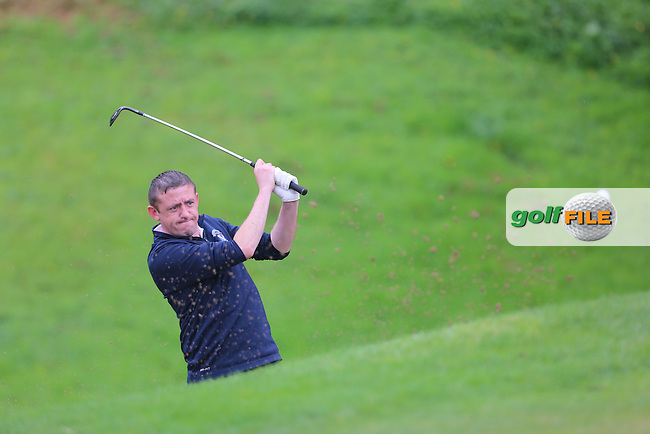 Patrick McCrossan (Strabane) during the Ulster Mixed Foursomes Final, Shandon Park Golf Club, Belfast. 19/08/2016<br /> <br /> Picture Jenny Matthews / Golffile.ie<br /> <br /> All photo usage must carry mandatory copyright credit (&copy; Golffile | Jenny Matthews)