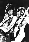 The Faces 1973 Ron Wood and Tetsu at Reading Festival.© Chris Walter.