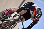 Riyu Ota (JPN), <br /> AUGUST 28, 2018 - Cycling - Track : Women's Keirin Repechage at Jakarta International Velodrome during the 2018 Jakarta Palembang Asian Games in Jakarta, Indonesia. <br /> (Photo by MATSUO.K/AFLO SPORT)