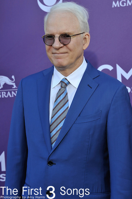Steve Martin attends the 47th Annual Academy of Country Music Awards in Las Vegas, Nevada on April 1, 2012.
