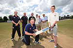 SWALEC ambassador Robert Croft visiting Newtown Cricket Club.<br /> <br /> 24.07.13<br /> &copy;Steve Pope-Sportingwales